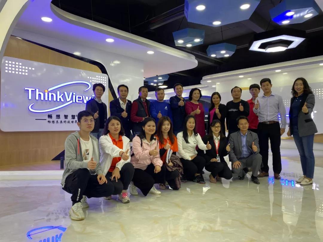 Gracias a la Cámara de Comercio de Shenzhen Electronics por venir a Shenzhen Imagine Vision Technology Co Ltd para guiar el trabajo.